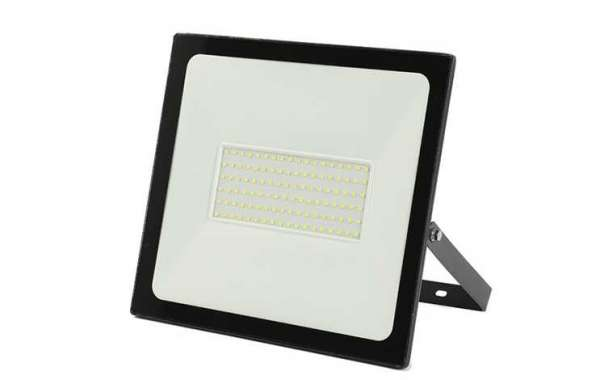 100w Outdoor Ultra-thin Led Floodlight Improves Night Travel Safety