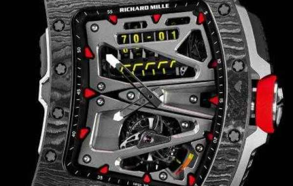Richard Mille Rm055 White Ceramic Red Rubber watches