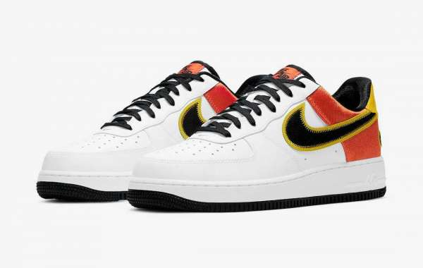 "Take a First Look at  2021 Nike Air Force 1 ""Raygun"" Classic Shoes CU8070-100"