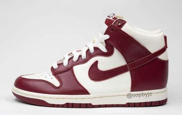 """DD1869-101 Nike Dunk High """"Team Red"""" Coming In Early 2021"""