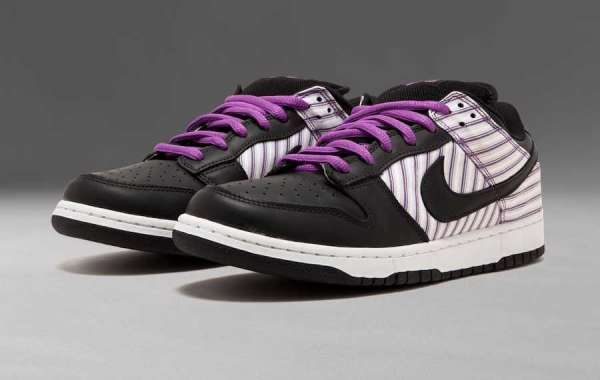 "Hot Sale Nike SB Dunk Low ""Purple Avenger"" Sale Online 304292-101"
